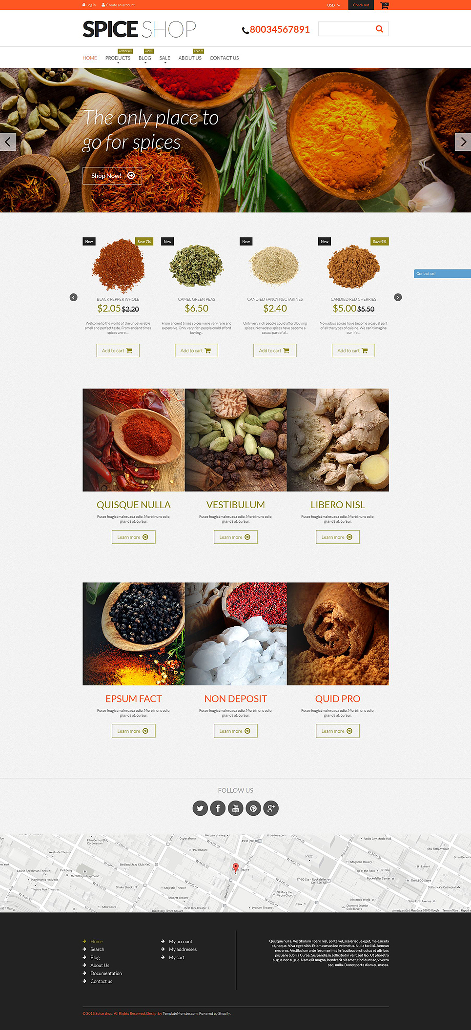 Spices Up Your Life (website theme) Item Picture