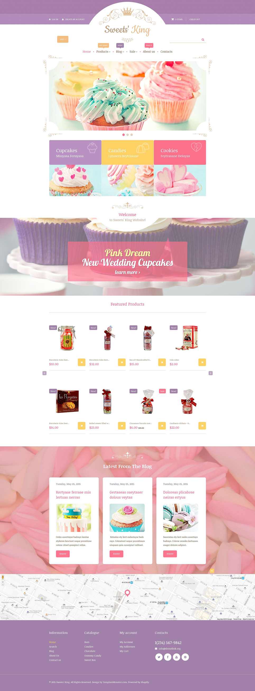 SweetsKing (website theme) Item Picture