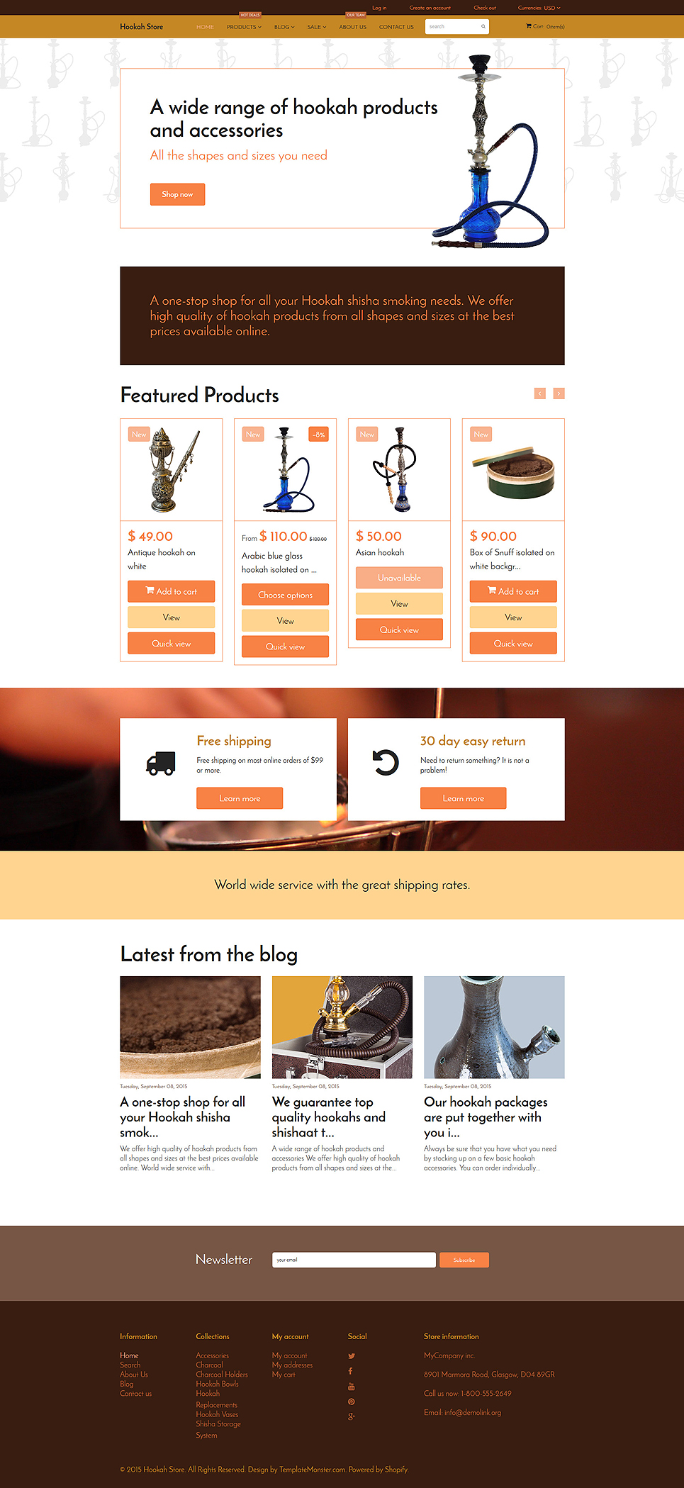 Smokers Delight (ecommerce theme) Item Picture