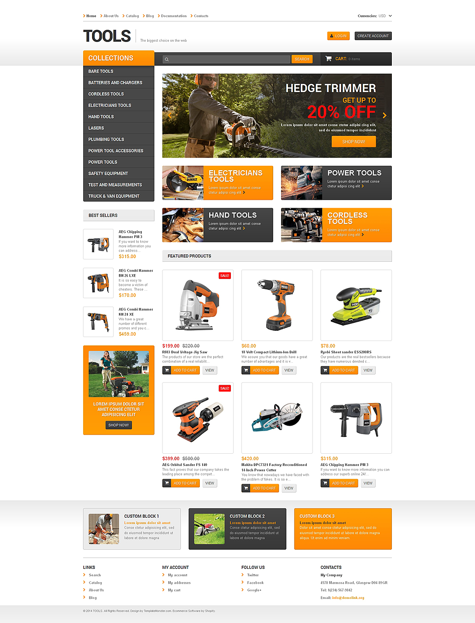 Tooltime (ecommerce theme) Item Picture