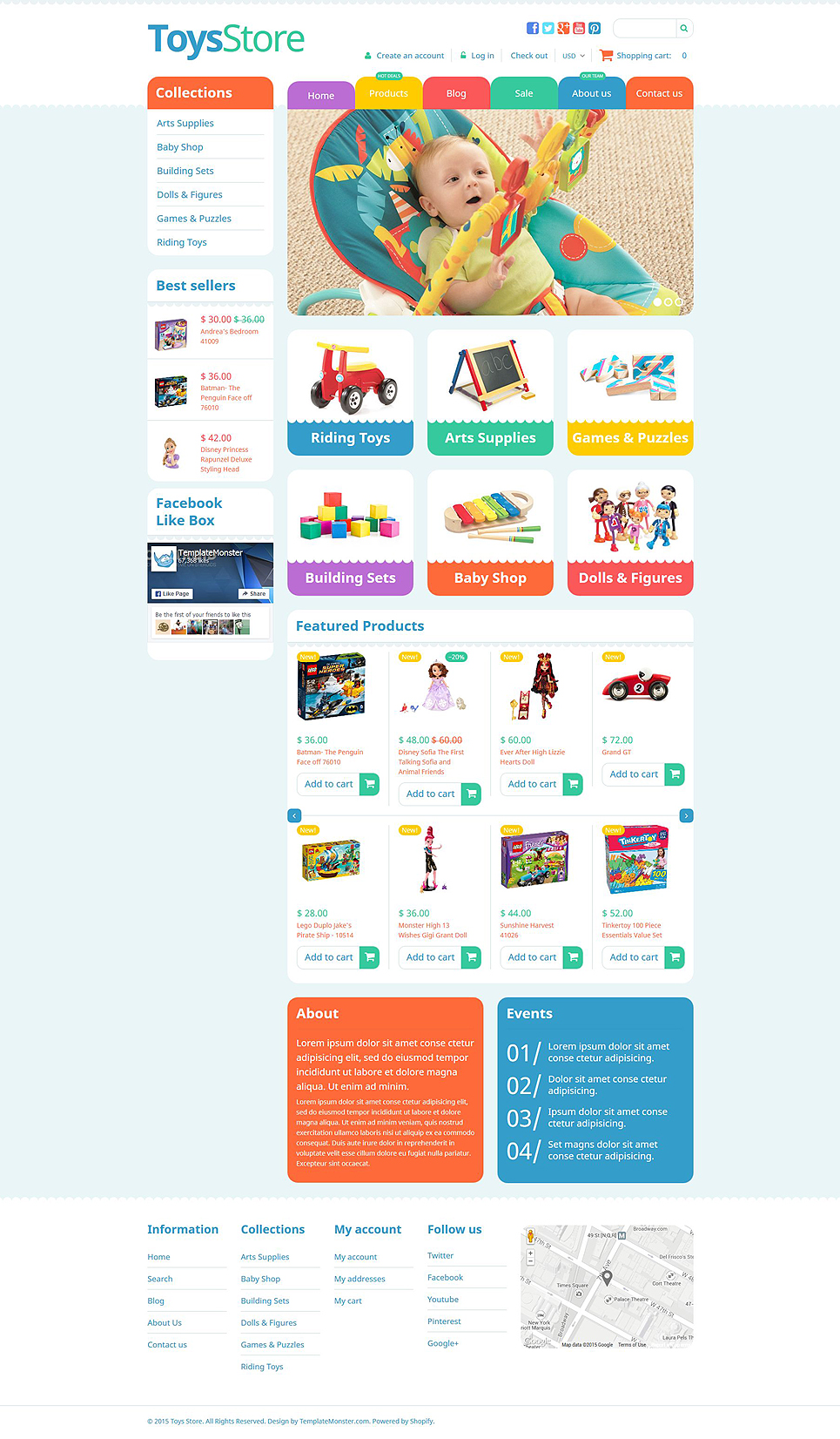 ToyzZz (ecommerce website theme) Item Picture