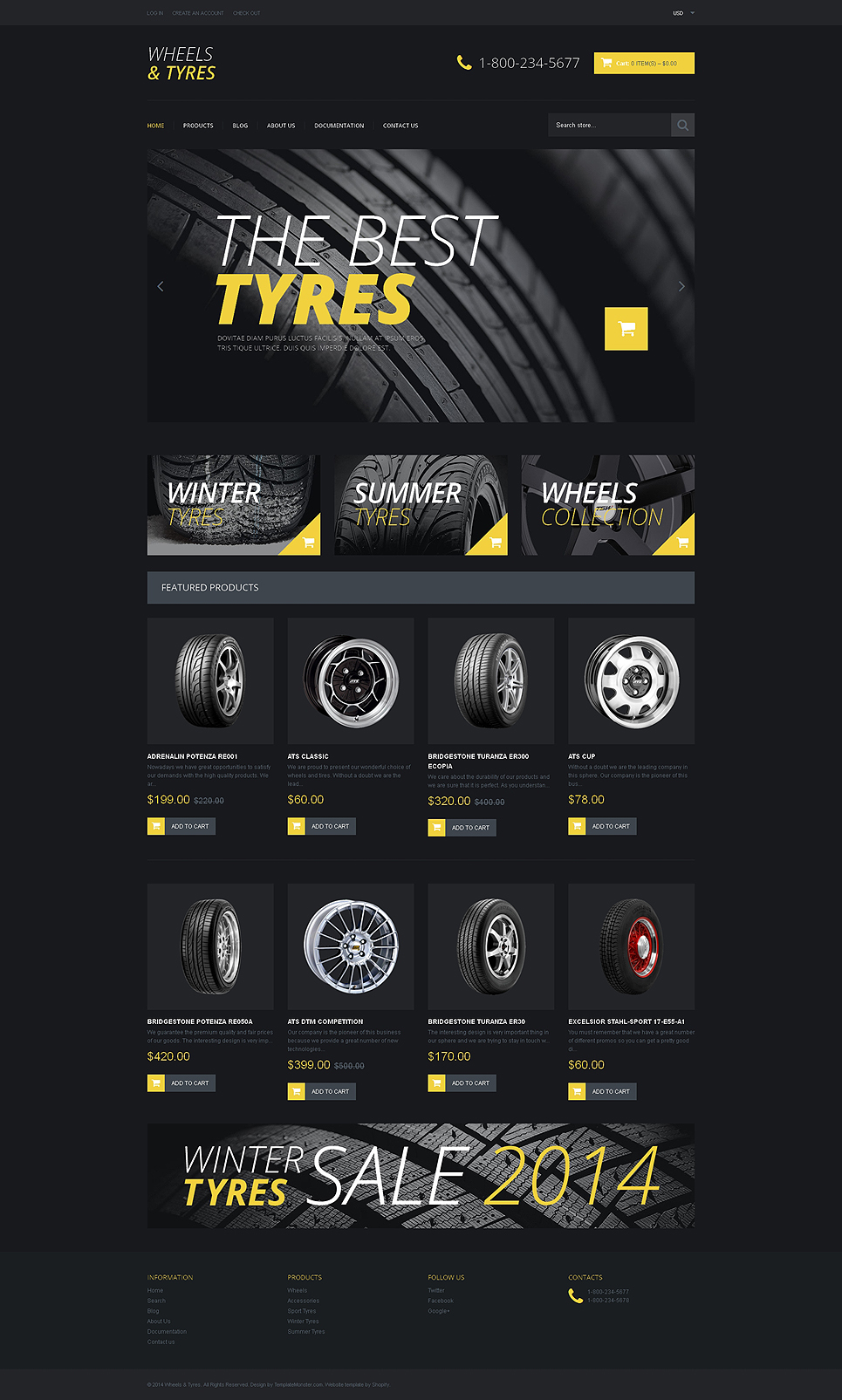 Wheels & Tires (Shopify theme) Item Picture