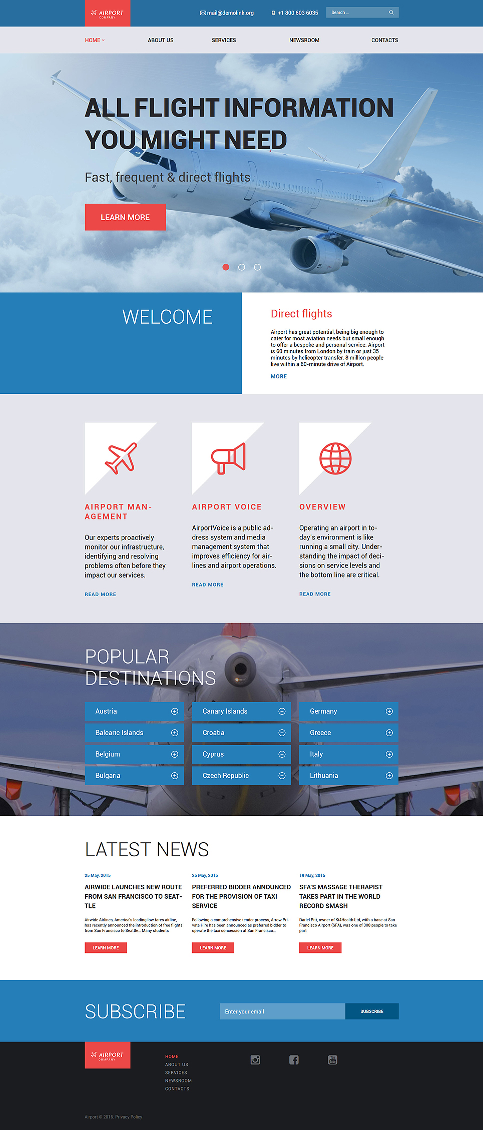 Airfares (website theme) Item Picture
