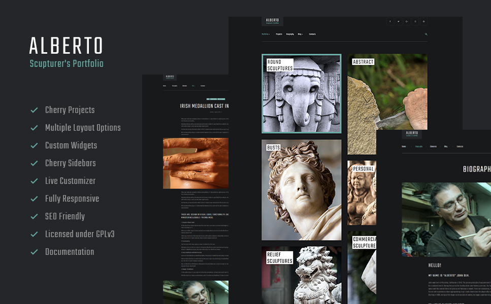 Alberto (WordPress template) Item Picture
