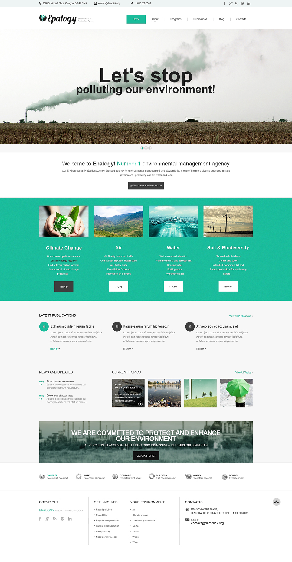 Alternative Power (WordPress template) Item Picture
