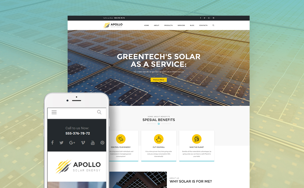 Apollo (theme for WordPress) Item Picture