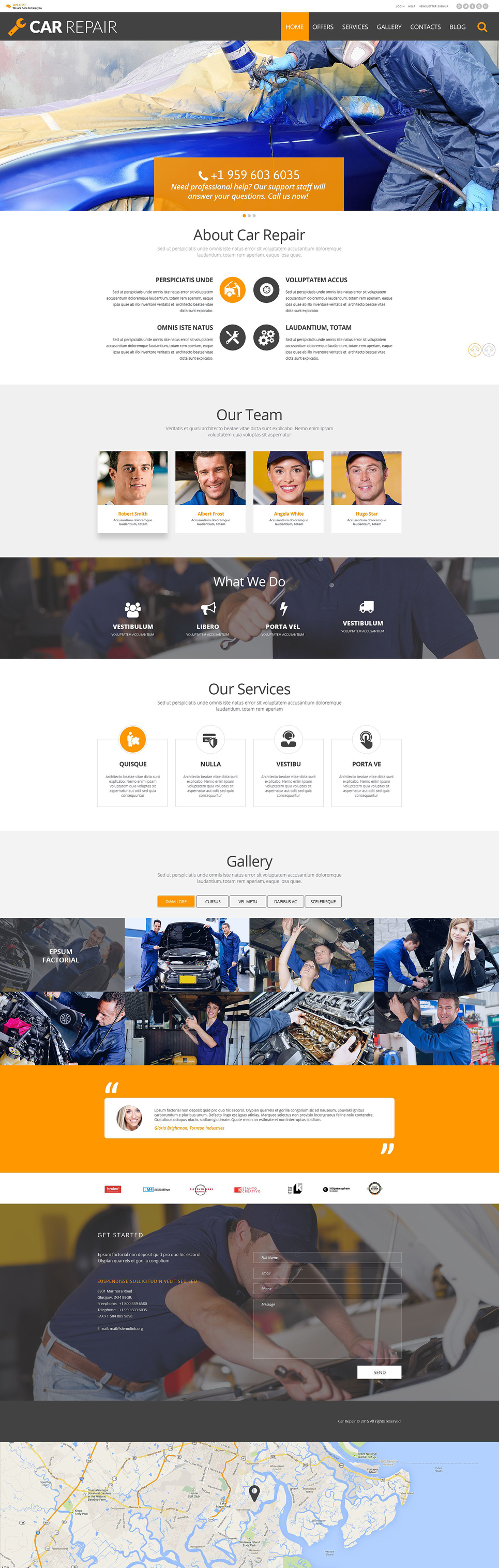 Car Repair (theme for your WordPress site) Item Picture