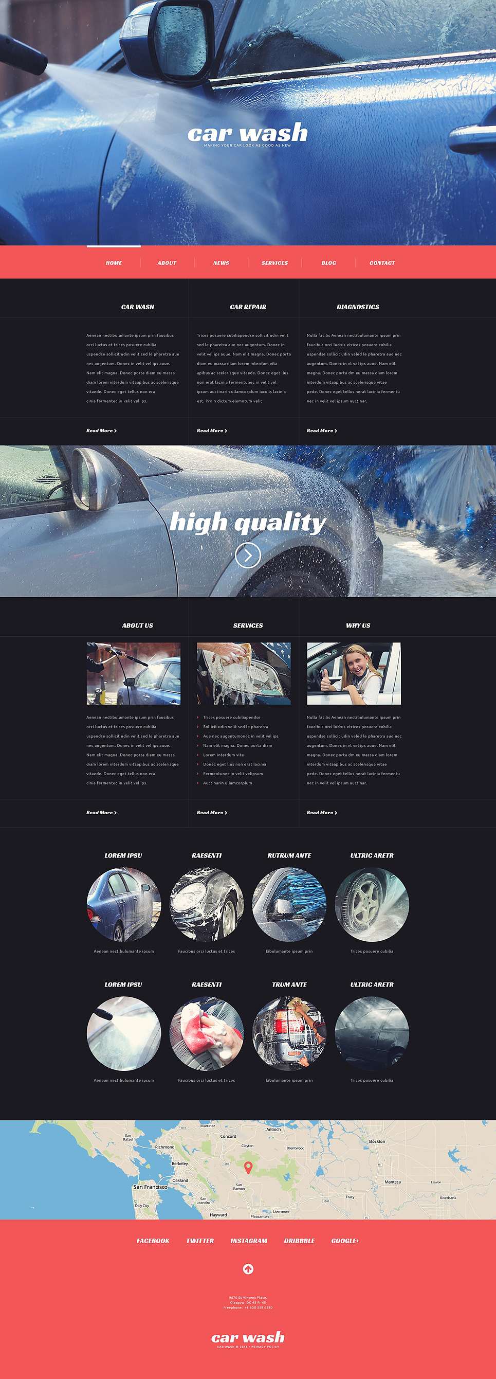 ShinyCar (WordPress template) Item Picture