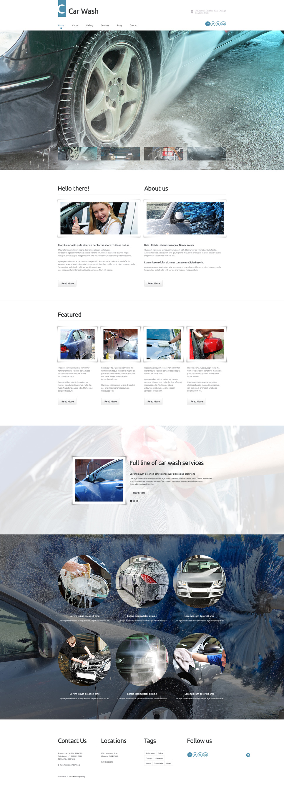 Car Wash (theme for WordPress) Item Picture