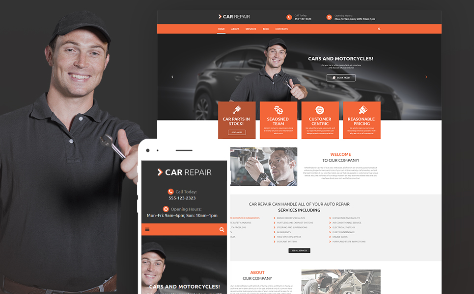 Cars and Bikes (website theme) Item Picture