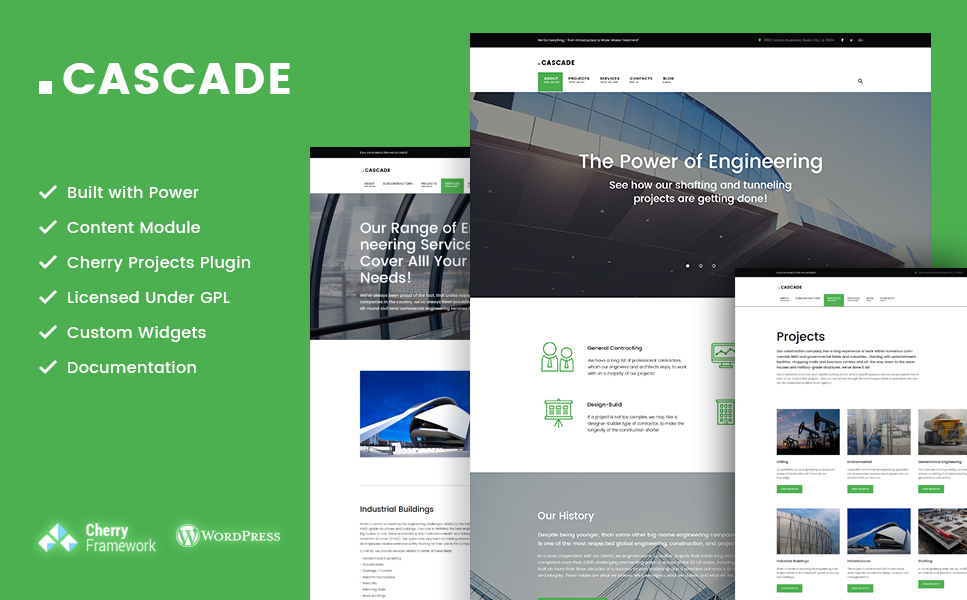 Cascade (WordPress template) Item Picture