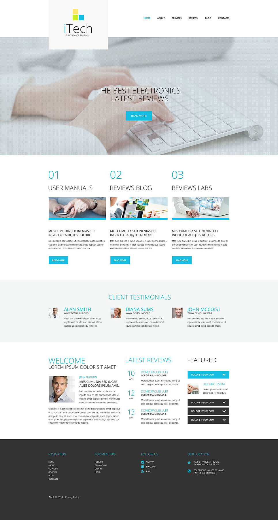 IT Responsive (theme for WordPress) Item Picture