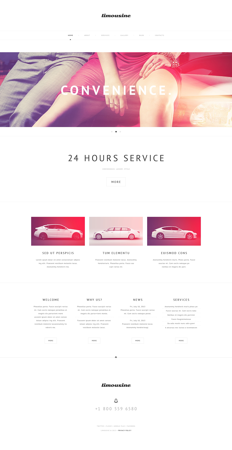 Luxury Limousine Services (template) Item Picture