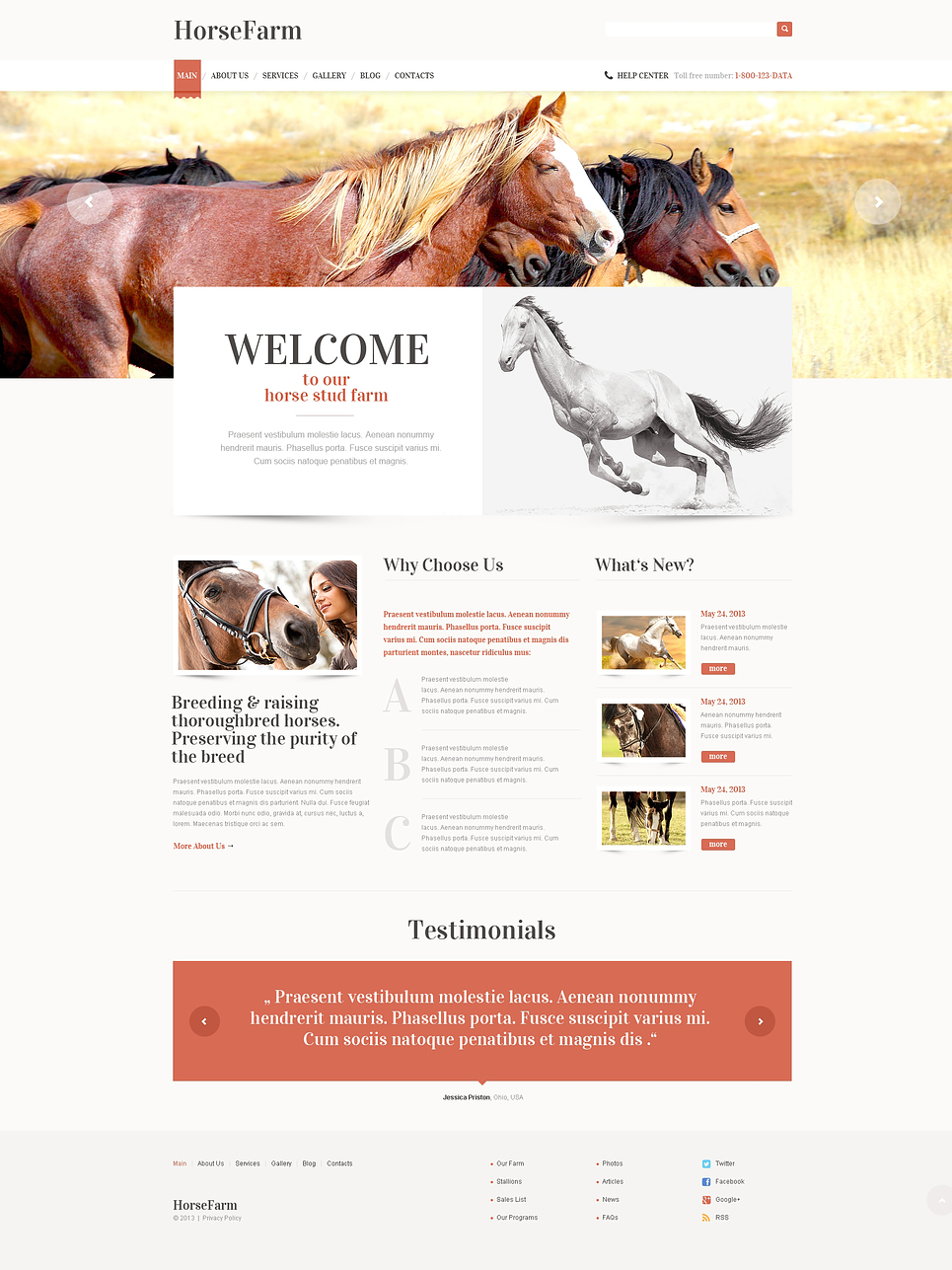 Horse Farm (website theme) Item Picture