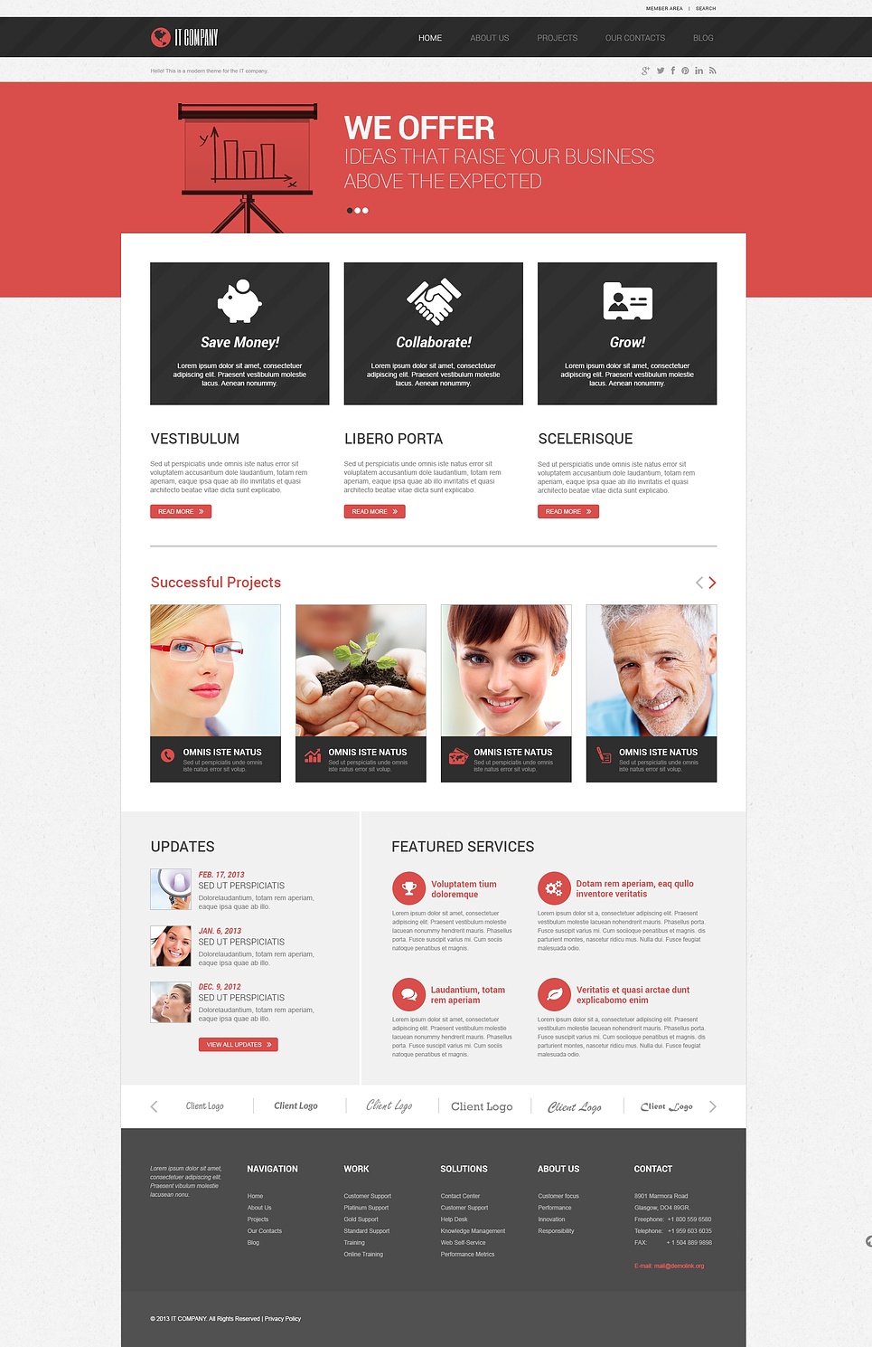 Symbolic IT (website theme) Item Picture