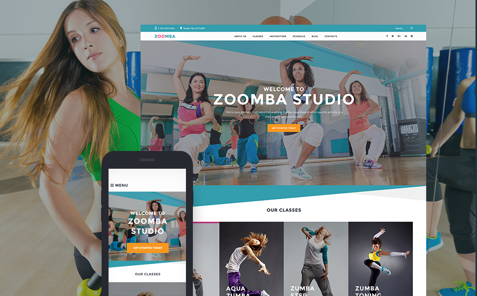 Zoomba (WordPress template) Item Picture