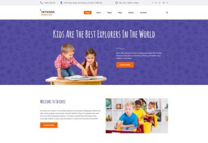 best joomla templates kids babies children feature