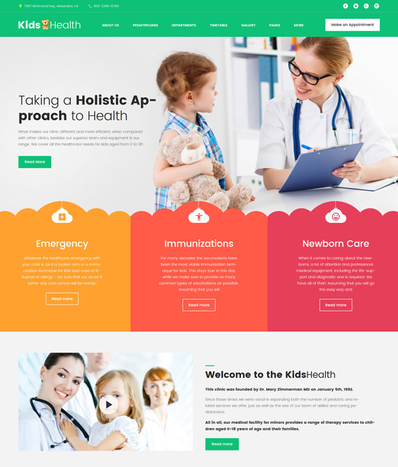 medical wordpress themes doctors clinics therapists