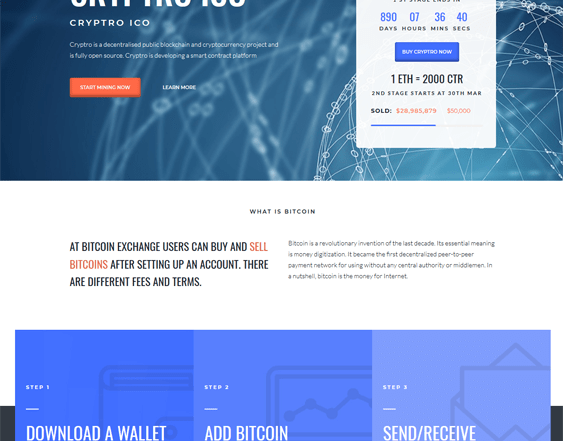 best cryptocurrency bitcoin wordpress themes feature