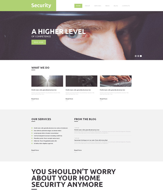 locksmith wordpress theme