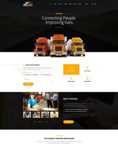 best bootstrap website templates logistics transportation companies feature