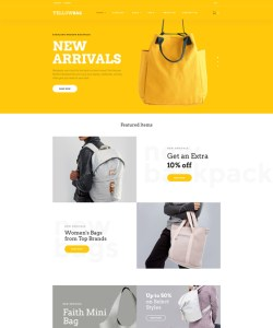 best shopify themes handbags purses luggage feature