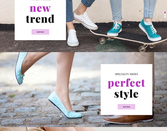 best prestashop themes for selling shoes footwear sneakers feature