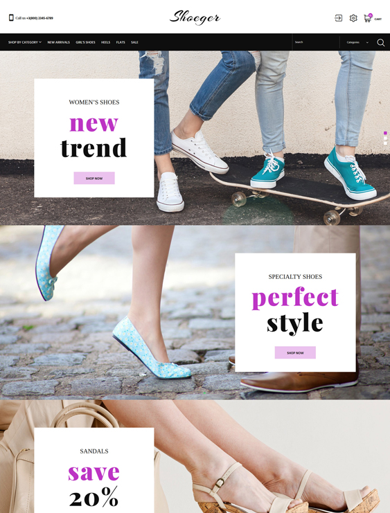 prestashop themes for selling shoes sneakers footwear
