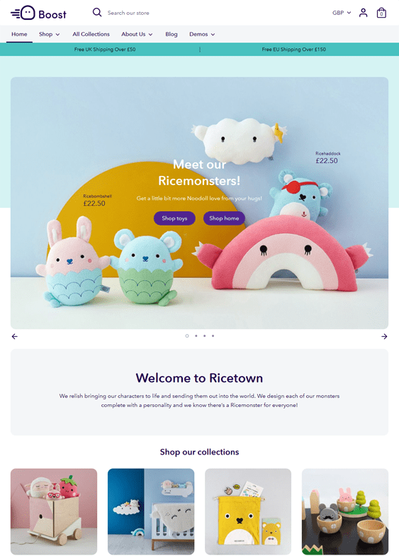 shopify themes for toy stores