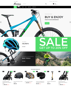 best shopify themes cycling bicycle stores feature