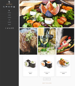 best restaurant prestashop themes feature
