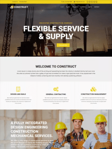 best joomla templates for construction companies feature