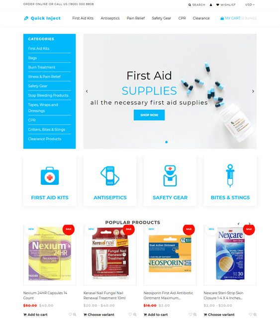 6 of the Best Medical Shopify Themes | Buildify