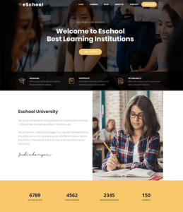 best education wordpress themes schools learning centers feature