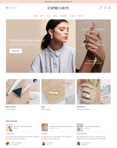 best shopify themes for watch and jewelry stores feature
