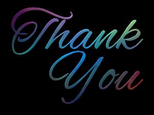 thank-you preloved