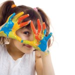 young-girl-with-paint-on-her-hands