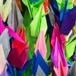 1,000 cranes over Akron construct story of hope, community
