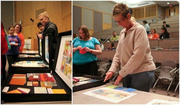 Beth also got to provide input on the interior design of Kay Jewelers Pavilion at a parent town hall meeting in 2013.