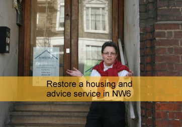 Restore a housing and advice service in NW6