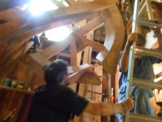 Aft-most frame going up