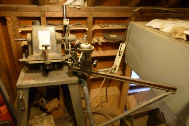Another Foley machine used mostly for steel circular saws