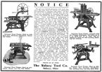 From a Sidney brochure early 1900's. Upper left photo showing the bandsaw in combination with other units. Courtesy VintageMachinery.org
