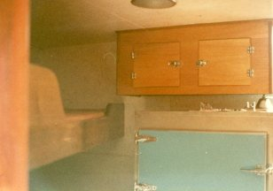 The controlling design principle for the crew's quarters was that it should be able to be washed down with a hose!