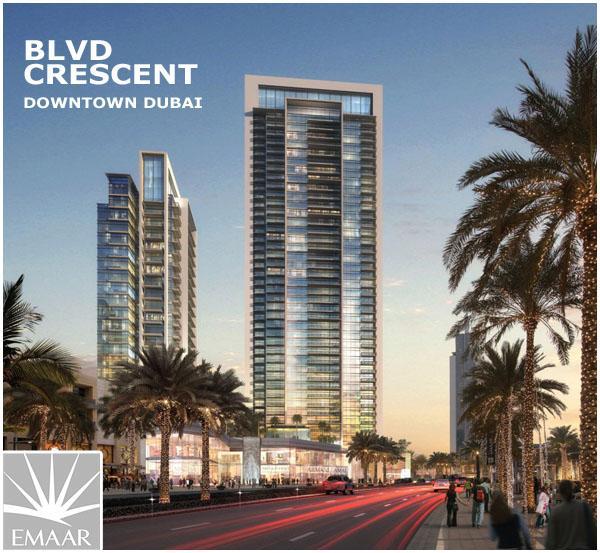 Emaar Blvd Crescent Downtown Dubai