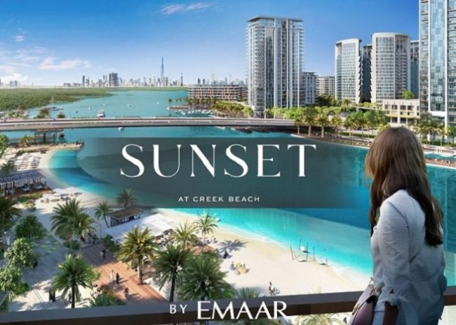 Beachfront Apartments Sunset at Creek Beach by Emaar