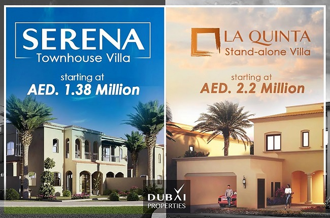 Serena and La Quinta Villas by Dubai Properties