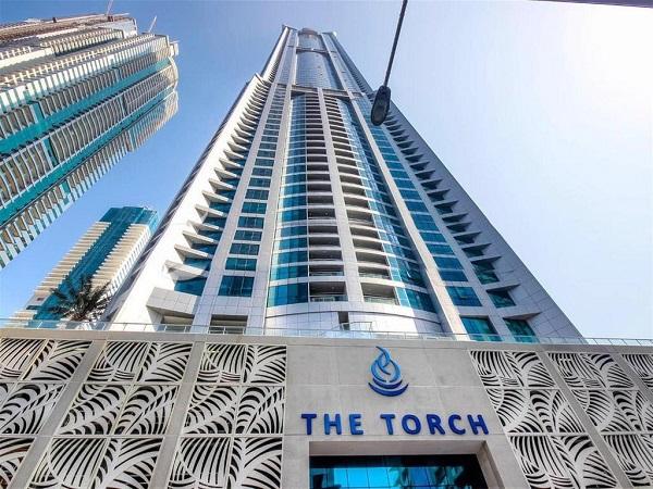The Torch Tower at Dubai Marina