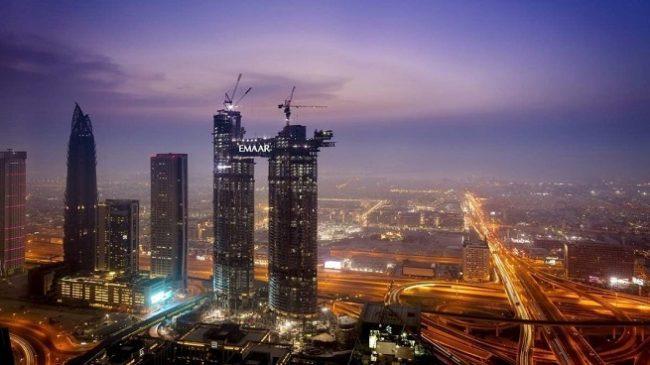 Address Residence Sky View - Construction