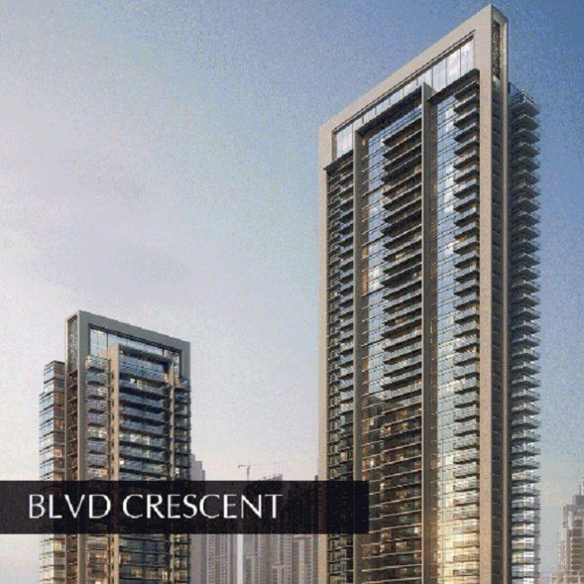 Blvd Crescent - Downtown Dubai - Emaar